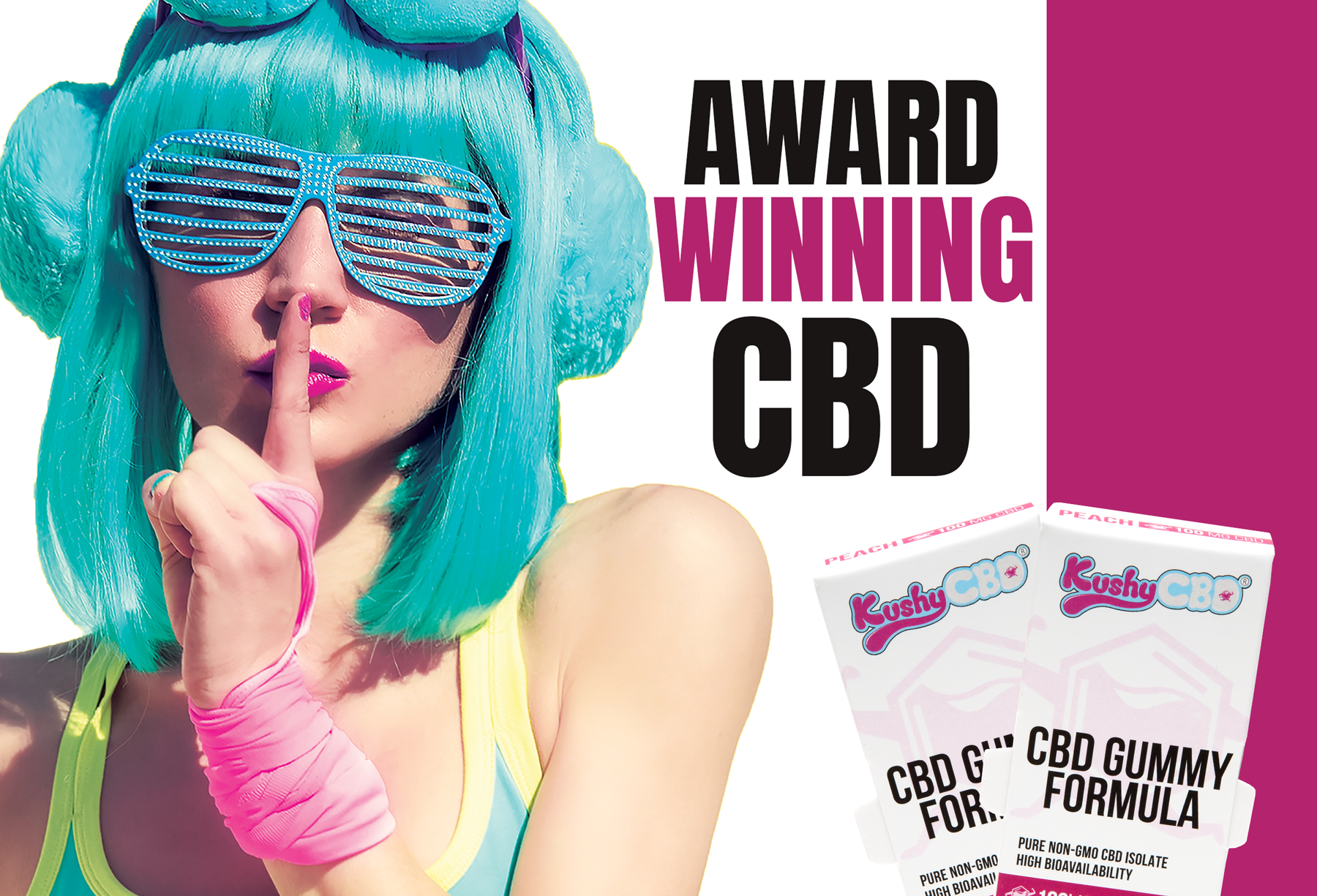 Award-Winning CBD Gummies